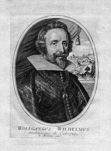 Wolfgang Wilhelm von Pfalz-Neuburg Portrait Kupferstich engraving