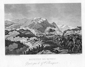 Napoleon Schlacht battle Rivoli Italien Italia incisione Stahlstich