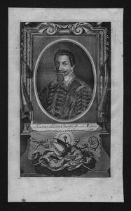 Johann Adam von Bicken Kurfürst Mainz Erzbischof Kupferstich Portrait