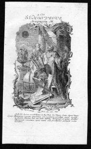 Dionysios der Areopagite 9. Oktober - Kupferstich Heiliger Heiligenbild Holy Card