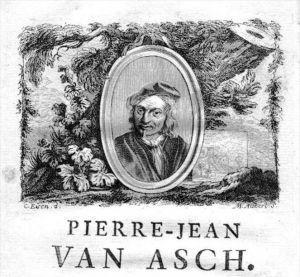 Pieter Jansz van Asch painter Portrait Kupferstich gravure engraving