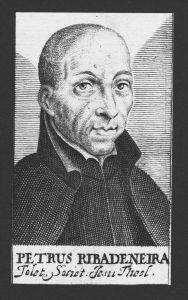Pedro de Ribadeneira Theologe Toledo Rom Madrid Kupferstich Portrait