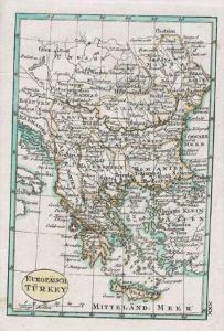 Turkey Kreta Greece Karte Schindelmayer