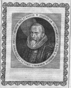 Johan van Oldenbarnevelt Holland Merian Portrait engraving gravure