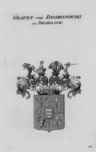 Drohojowski Wappen Adel coat of arms heraldry Heraldik crest Kupferstich