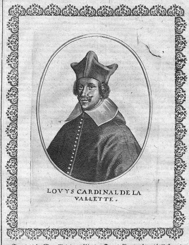 Louis de Nogaret de la Valette Portrait Kupferstich