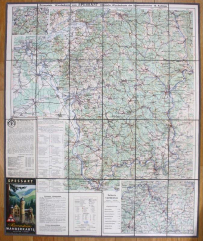 Spessart Aschaffenburg Wertheim Hanau Gelnhausen Karte