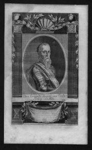 Don Fernando Alvarez de Toledo Herzog von Alba Kupferstich Portrait