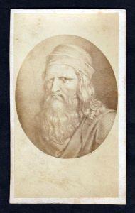 Leonardo da Vinci Portrait CDV Photo vintage Foto