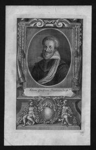 Adam Graf von Trautmansdorff gravure engraving Kupferstich Portrait