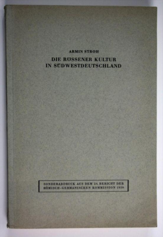 Die Rössener Kultur in Südwestdeutschland