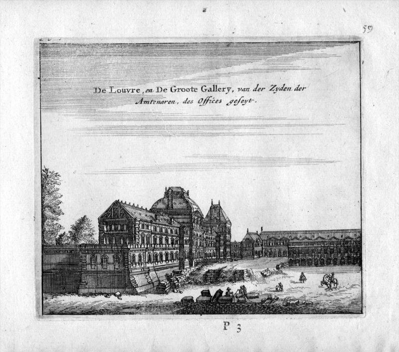 Museum Louvre Paris Frankreich France gravure estampe Kupferstich