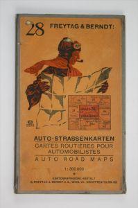 Auto-Strassenkarten. Blatt 28