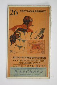 Auto-Strassenkarten. Blatt 26