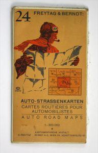 Auto-Strassenkarten. Blatt 24