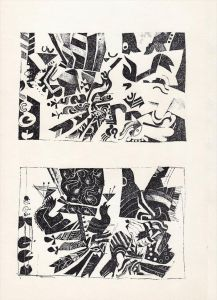 Illustrationsversuch Originalzinkätzungen von Christoph Brudi zu
