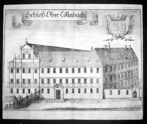 1720 - Oberköllnbach Hofberg Postau Landshut Wening