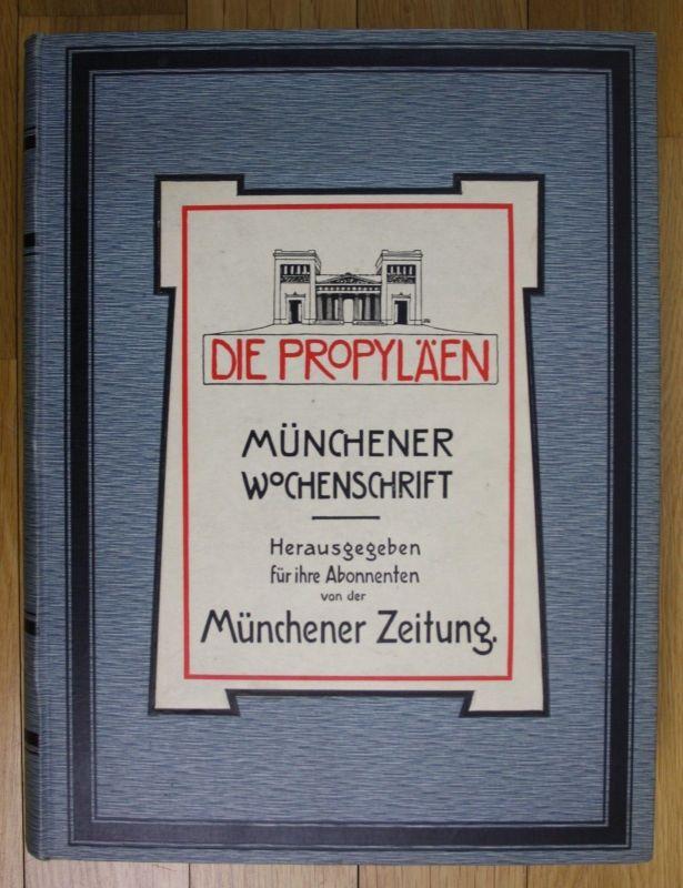 1907 1908 Eduard Engels Münchener Wochenschrift Die Propyläen Zeitschrift