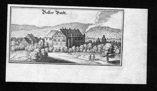 1650 - Bad Boll Göppingen Kupferstich Merian
