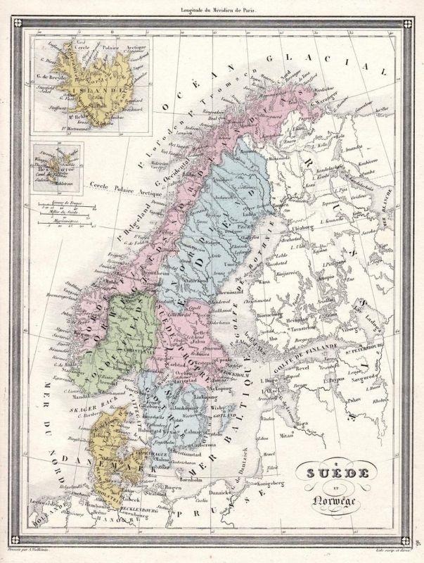 Karte Norwegen Schweden.Der Artikel Mit Der Oldthing Id 33858228 Ist Aktuell Nicht