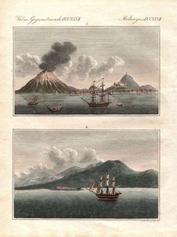 Verm. Gegenst. CCCXXXII - Kepulauan Banda Inseln island Sundastraße Inseln islands Indonesien Indonesia Asia A