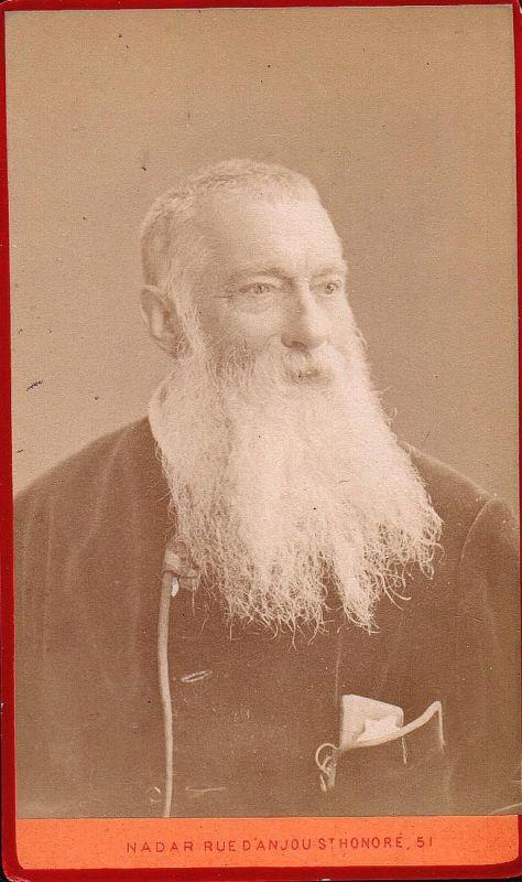 Alphonse Karr (1799-1850) - Journalist journaliste Schriftsteller writer ecrivain Portrait CDV Foto Photo vint