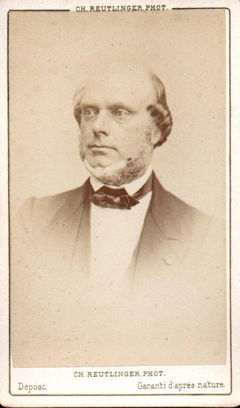 Jean Louis Armand de Quatrefages de Bréau (1810-1892) - Zoologe zoologist zoologiste Antropologe anthropologis