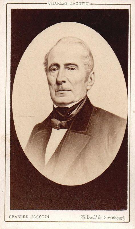Alphonse de Lamartine (1790-1869) - Schriftsteller writer ecrivain Politiker politician politicien Portrait CD