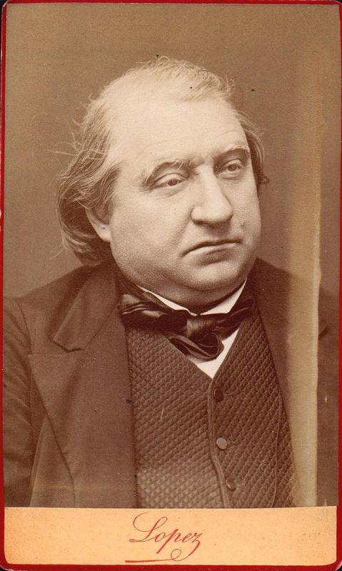 Ernest Renan (1823-1892) - Schriftsteller writer ecrivain Historiker historien historian philologue Philologe