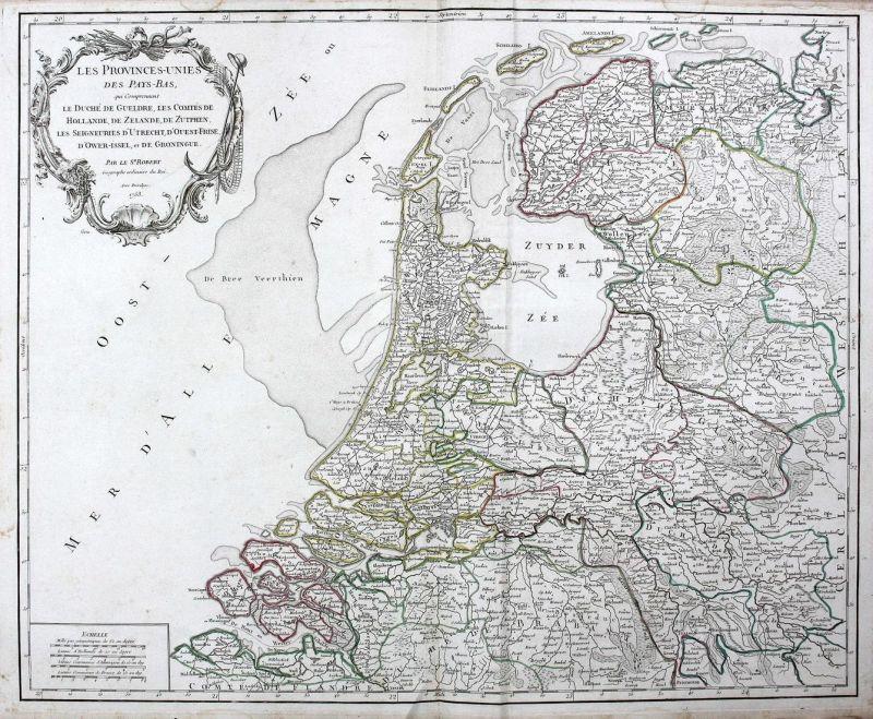 Les Provinces-Unies des Pays-Bas, qui Comprennent Le Duche de Gueldre, Les Comtes de Hollande, De Zelande, de