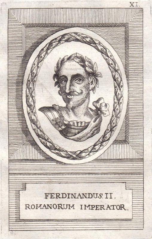 Ferdinandus II. - Ferdinand II. König king Herzog duke Böhmen Bohemia Österreich Austria Ungarn Hungary Portra