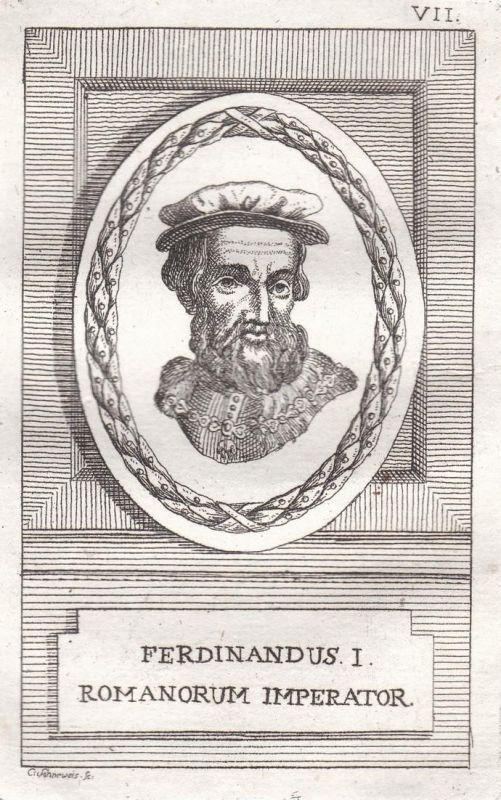 Ferdinandus I. - Ferdinand I. König king Herzog duke Österreich Austria Böhmen Bohemia Kroatien Croatia Ungarn