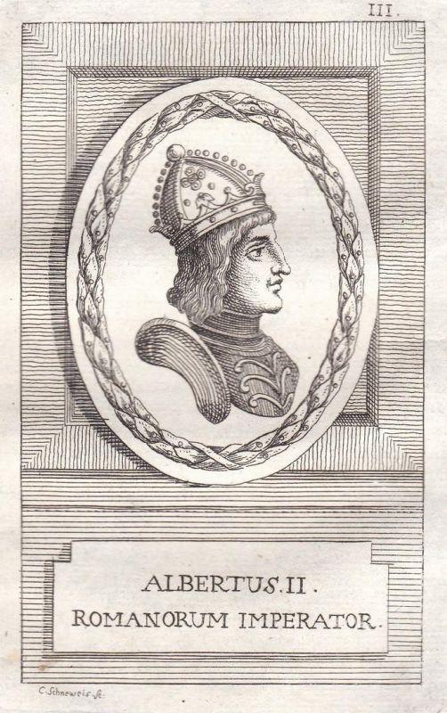 Albertus II. - Albrecht II. Herzog duke König king Österreich Austria Böhmen Bohemia Kroatien Croatia Ungarn H