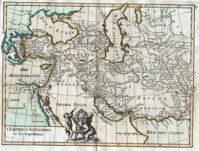 Karte Europa Asien.1890 Volker People Kultur Culture Asien Asia Europe Europa