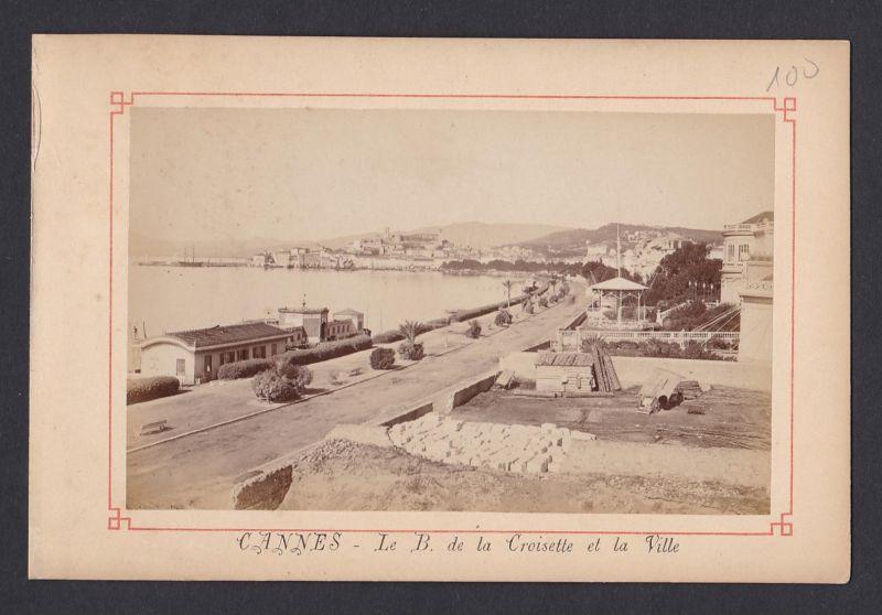 Cannes - Le B. de la Croisette et la Ville