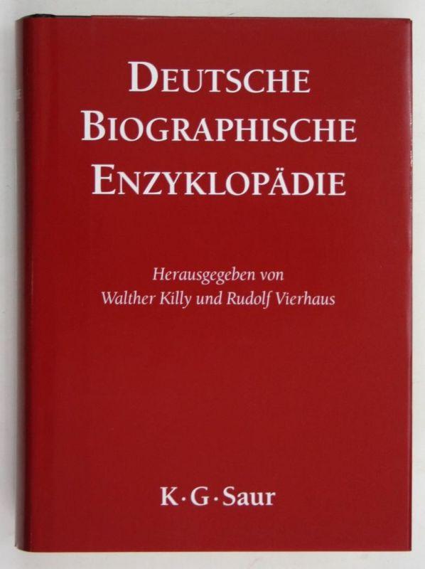 Deutsche Biographische Enzyklopädie. - Band 9. Schmidt - Theyer.