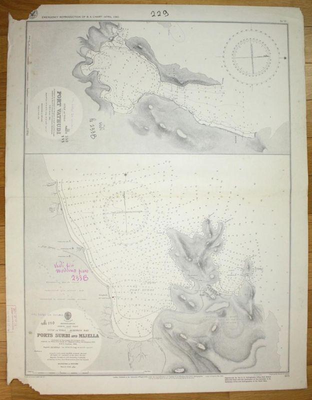 Gulf of Volo - Port Vathudi - Mediterranean - Greece - East Coast - Gulf of Volo - Amiros Bay - Ports Surbi an