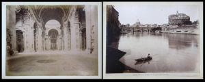 Roma - San Pietro / Castel S. Angelo dal Tevere / Tiber / Rom / Italia / Italien
