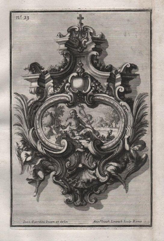 frame angel Engel Rahmen Silber silver design silversmith baroque