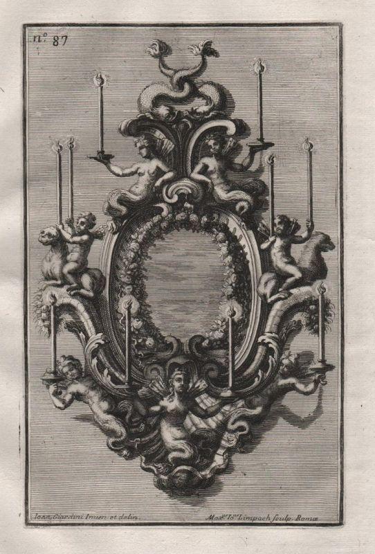 Kerzen Leuchter chandelier candles silver silversmith design baroque