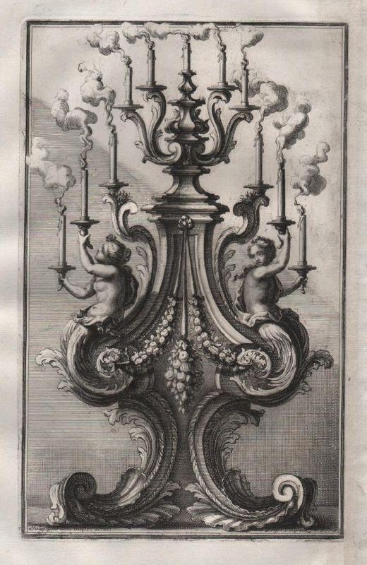 Leuchter candles Kerzenhalter chandelier silver silversmith design baroque