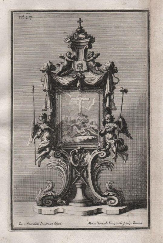 Rahmen frame angel Engel Silber silver design silversmith baroque
