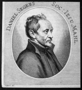 Daniel Segers - Daniel Seghers Maler painter Antwerpen Antwerp Kupferstich etching Portrait