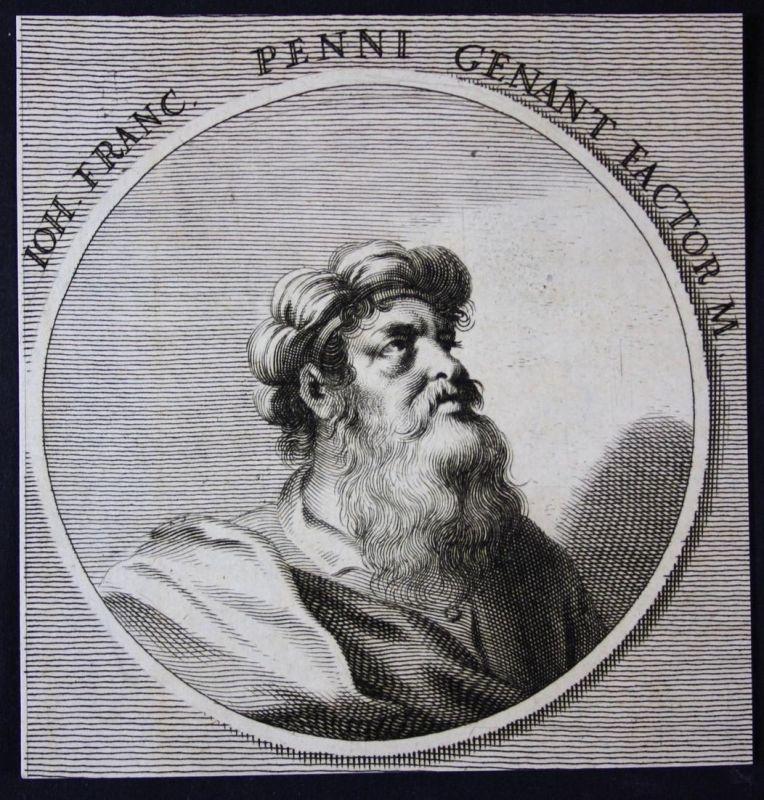 Ioh. Franc. Penni genant Factor - Giovanni Francesco Penni Italien Italia Maler painter Kupferstich etching Po