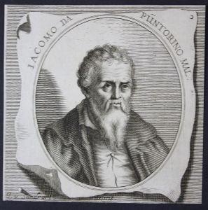 Iacomo da Püntorino - Gian Giacomo Caraglio Architekt architect Maler painter Kupferstich etching Portrait