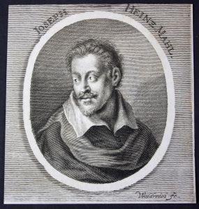 Ioseph Heinz - Joseph Heintz Architekt architect Maler painter Kupferstich etching Portrait