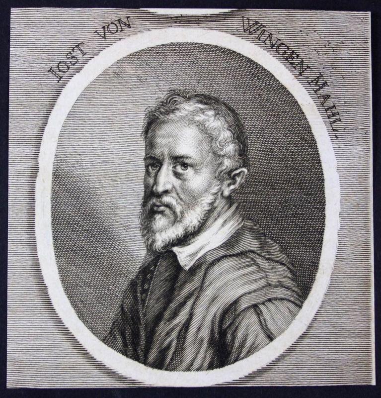 Iost von Wingen - Joost van Wingen Maler painter Kupferstich etching Portrait