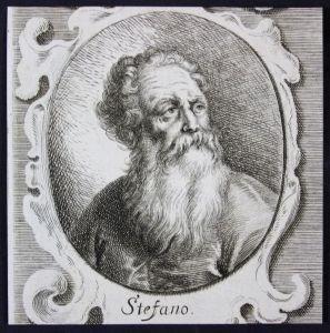 Stefano - Stefano da Verona Italien Italia Maler painter Kupferstich etching Portrait