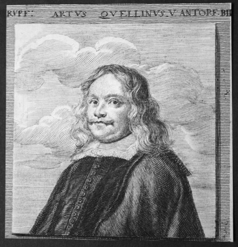 Artus Quellinus v. Antorf - Artus Quellinus Bildhauer sculptor Antwerpen Kupferstich etching Portrait