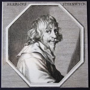 Henricus Steenwyck - Hendrick van Steenwyck Niederlande Maler painter Kupferstich etching Portrait